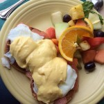 Eggs Benedict - The Cottage Restaurant