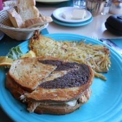 Tuna Melt on Rye - The Cottage Restaurant